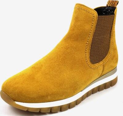 GABOR Chelsea Boots in braun / senf, Produktansicht