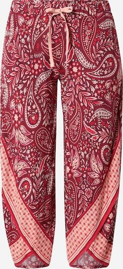 ESPRIT Pyjamahose in orange / rot / weiß, Produktansicht