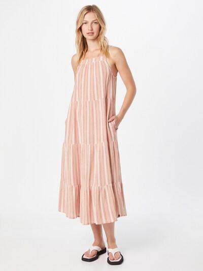 Superdry Kleid in beige / pitaya / rosé, Modelansicht