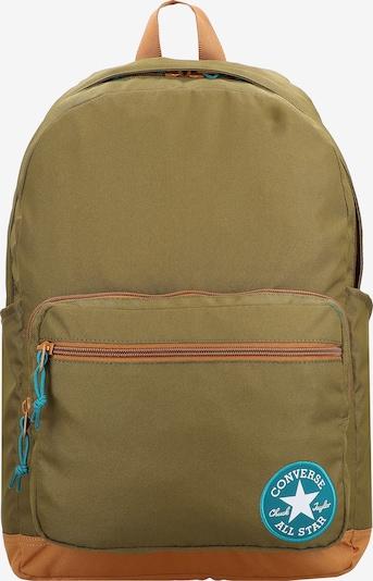 CONVERSE Rucksack 'Go 2' in blau / oliv / orange / weiß, Produktansicht