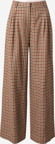 Designers Remix Plissert bukse 'Alfie' i brun