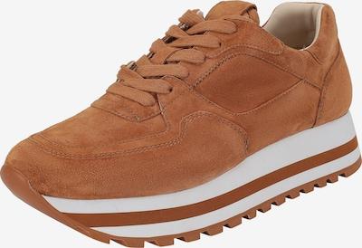 Ekonika Sneakers laag in de kleur Bruin / Wit, Productweergave