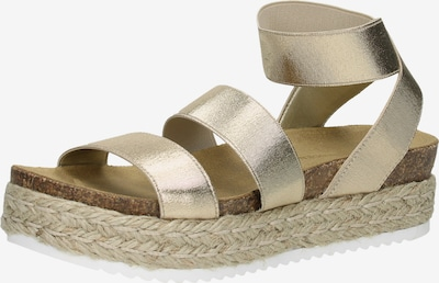 STEVE MADDEN Sandalen in gold, Produktansicht