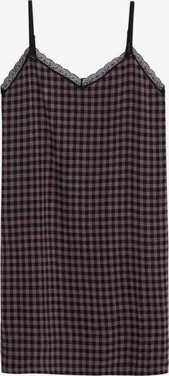 MANGO KIDS Kleid 'Alexa' in mauve / schwarz, Produktansicht