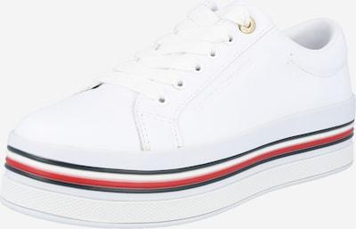 Sneaker low TOMMY HILFIGER pe albastru închis / roșu / alb, Vizualizare produs
