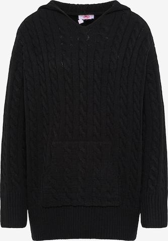 MYMO Oversized Sweater in Black