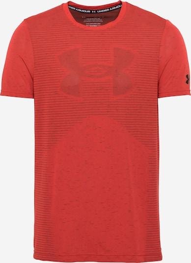 UNDER ARMOUR Funkcionalna majica | rjasto rdeča / črna barva, Prikaz izdelka