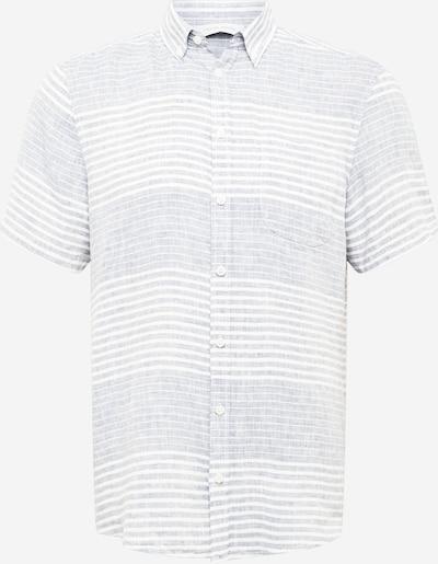 Casual Friday Chemise 'Anton' en écru / bleu clair / blanc, Vue avec produit