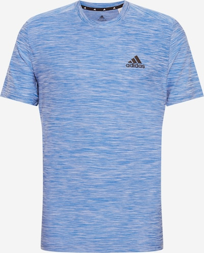 ADIDAS PERFORMANCE Sporta krekls debeszils / melns, Preces skats