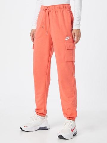 Pantalon cargo Nike Sportswear en orange