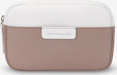 Kapten & Son Sacs banane 'Habo' en camel / blanc, Vue avec produit