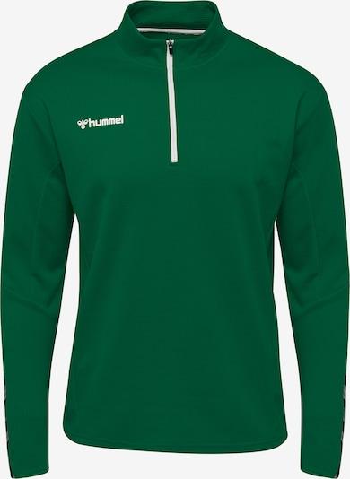 Hummel Sportsweatshirt in grau / grün / schwarz, Produktansicht