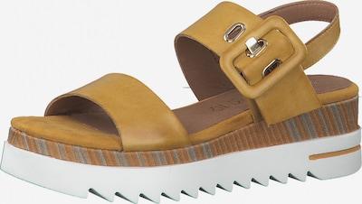 MARCO TOZZI by GUIDO MARIA KRETSCHMER Páskové sandály - hořčicová, Produkt