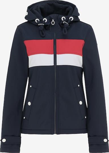 DreiMaster Maritim Jacke in nachtblau / hellrot / weiß, Produktansicht