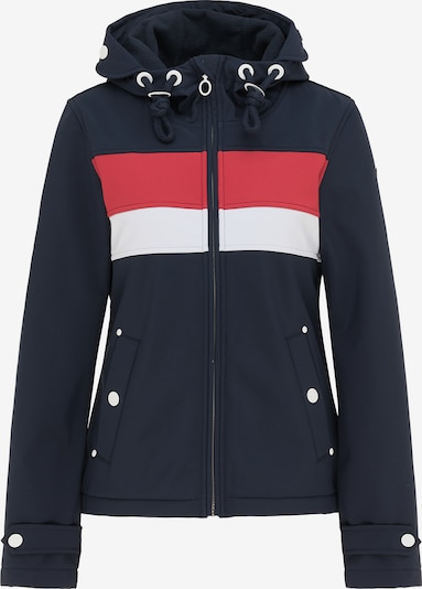 DreiMaster Maritim Functionele jas in de kleur Nachtblauw / Rood / Wit, Productweergave