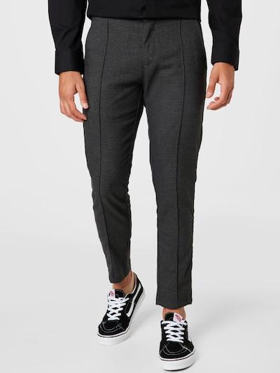 !Solid Chino hlače u dimno siva / crna, Prikaz modela