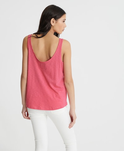 Superdry Tanktop in pink | ABOUT YOU