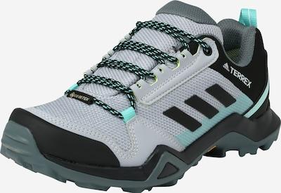 ADIDAS PERFORMANCE Chaussure basse 'TERREX' en gris clair / gris foncé / jade / noir / blanc, Vue avec produit