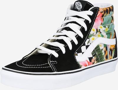 VANS Sneaker 'SK8-Hi' in gelb / grasgrün / pink / schwarz / weiß, Produktansicht
