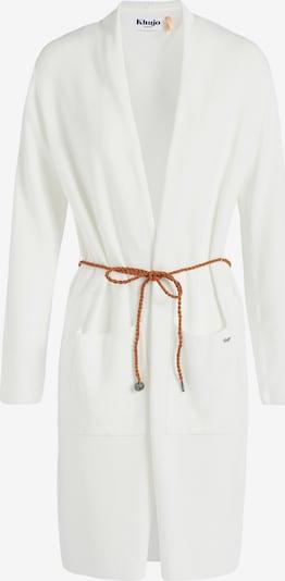 khujo Gebreid vest in de kleur Wit, Productweergave