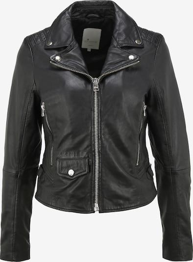 Goosecraft Lederjacke 'GC Cato' in schwarz, Produktansicht