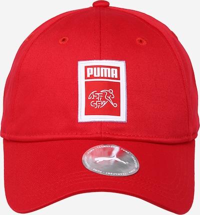 Șapcă sport PUMA pe roși aprins / alb, Vizualizare produs