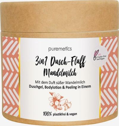 puremetics Body Peeling 'No2 3in1 Dusch-Fluff' in White, Item view