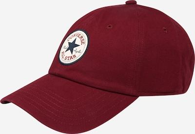 Șapcă CONVERSE pe albastru închis / roşu închis / alb, Vizualizare produs