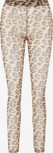 PIECES Leggings 'Alva' in beige / braun, Produktansicht