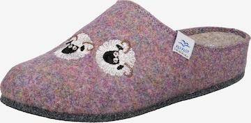 FLY FLOT Slippers in Purple