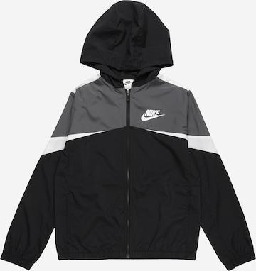melns Nike Sportswear Starpsezonu jaka