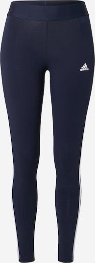ADIDAS PERFORMANCE Sportbroek in de kleur Donkerblauw / Wit, Productweergave
