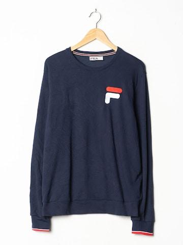 FILA Sweatshirt in L in Blau