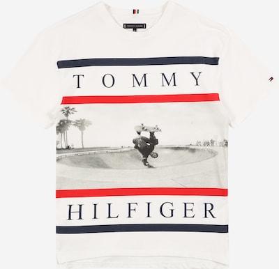TOMMY HILFIGER Camiseta en azul noche / rojo / blanco, Vista del producto