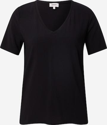 ONLY Shirt 'MERLE' in Zwart