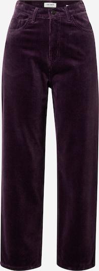 Carhartt WIP Pantalon 'Newport' en aubergine, Vue avec produit
