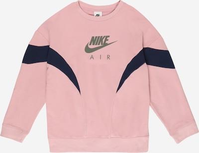 Nike Sportswear Sweater majica u noćno plava / siva / roza, Pregled proizvoda