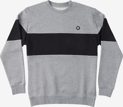 DC Shoes Sportsweatshirt 'Riot' in de kleur Grijs gemêleerd / Zwart, Productweergave
