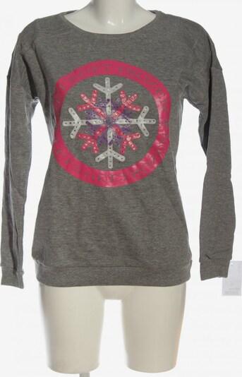 Cache Cache Sweatshirt in M in hellgrau / lila / pink, Produktansicht