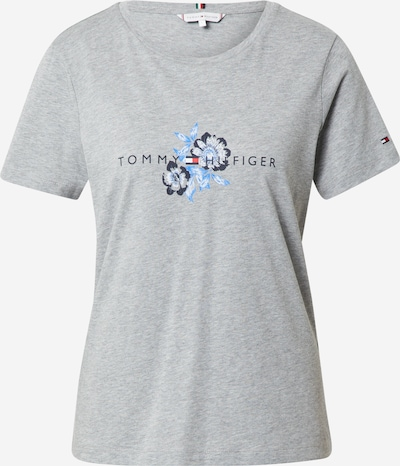 TOMMY HILFIGER Majica u plava / mornarsko plava / svijetlosiva / crvena / bijela, Pregled proizvoda