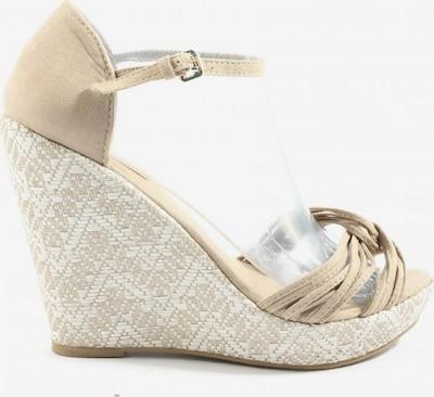 Sfera Wedges Sandaletten in 40 in creme, Produktansicht