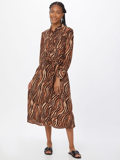 Pimkie Kleid 'AVATAR' in braun / kastanienbraun / hellbraun, Modelansicht