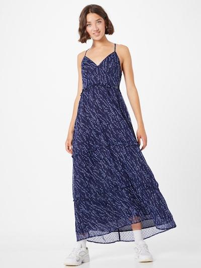 Superdry Kleid 'MARGAUX' in dunkelblau / weiß, Modelansicht