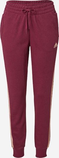 ADIDAS PERFORMANCE Sporthose en rosa / bordeaux, Vue avec produit