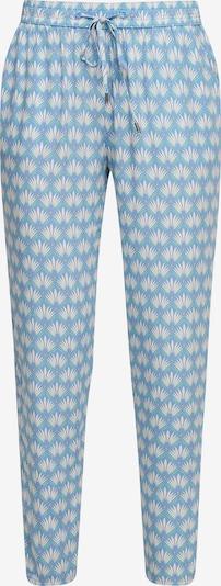 s.Oliver Pantalon chino en bleu clair / blanc, Vue avec produit