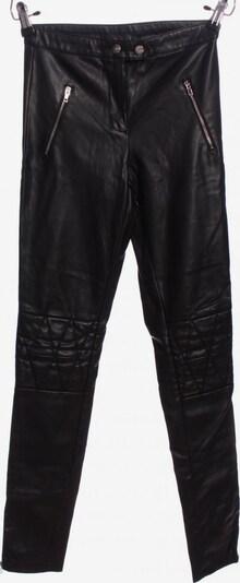 ONLY Lederhose in XS in schwarz, Produktansicht