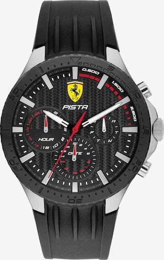 Scuderia Ferrari Analoguhr in gelb / rot / schwarz / silber, Produktansicht