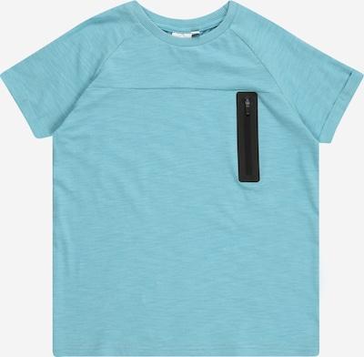NAME IT Shirt 'JESPER' in de kleur Lichtblauw / Zwart, Productweergave