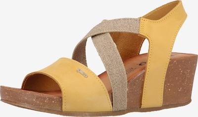 IGI&CO Sandalen in beige / gelb, Produktansicht