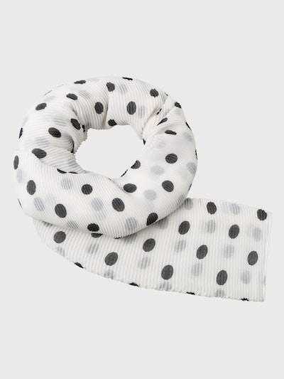 zero Schal in weiß, Produktansicht